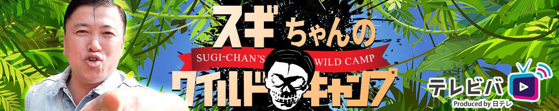 【テレビバ】スギちゃんのワイルドキャンプ